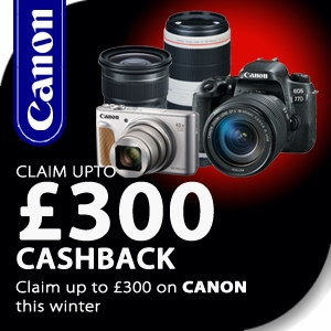 Canon | Winter Cashback