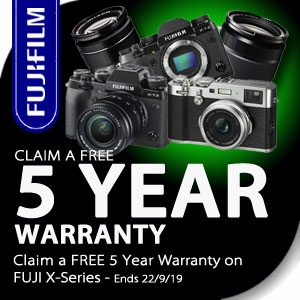 Fujifilm | FREE 5 YEAR WARRANTY
