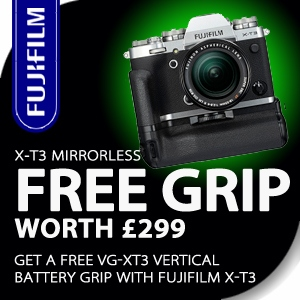 Fujifilm | FREE GRIP with X-T3 Mirrorless