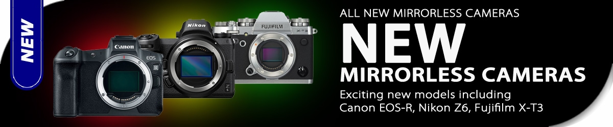 NEW | Mirrorless Cameras