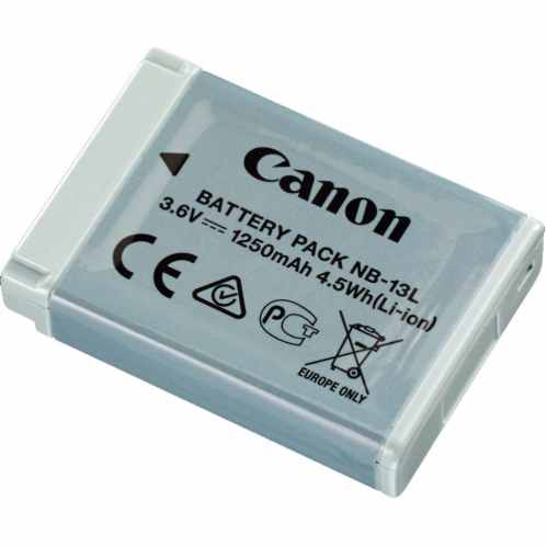 Canon NB-13L Battery for Powershot G5 X, G7 X, G9 X and more