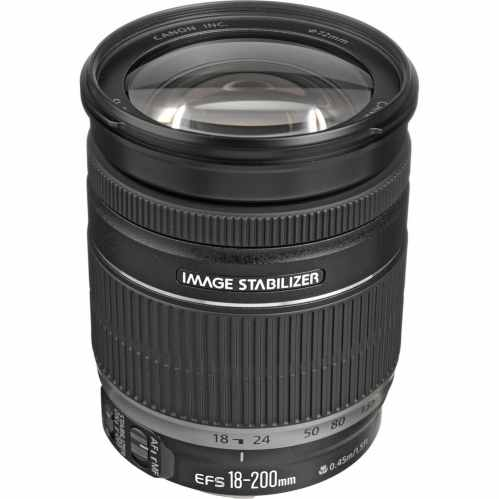 Canon EF-S 18-200mm f/3.5-5.6 IS All-in-one Lens