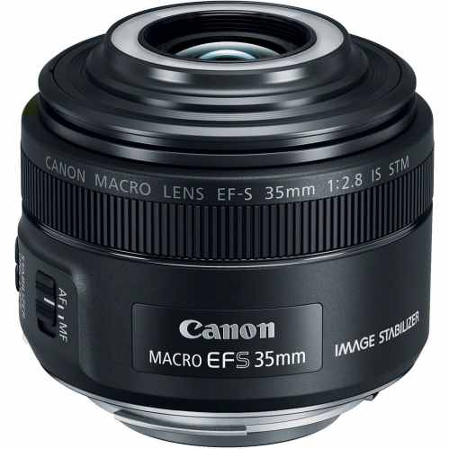 Canon EF-S 35mm f/2.8 Macro IS STM with LED