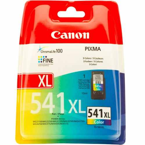 Canon CL-541XL High Yield C/M/Y Colour Ink Cartridge