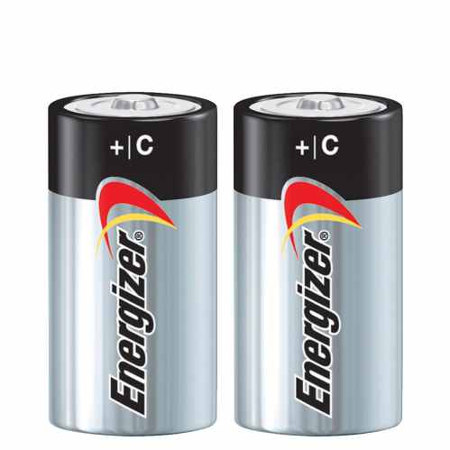 Energizer Max PowerSeal Batteries - C Cell (2pk)