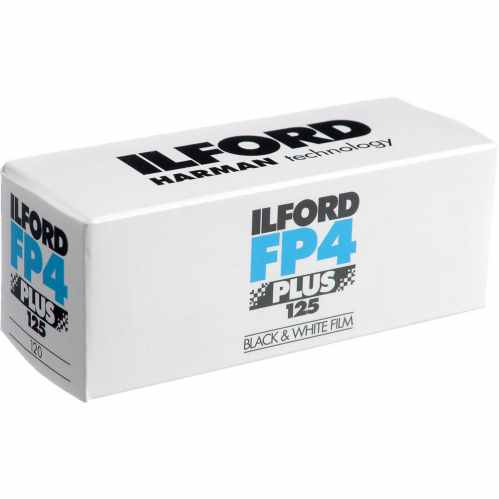 Ilford FP4 PLUS ISO 125 120 Black & White Roll Film