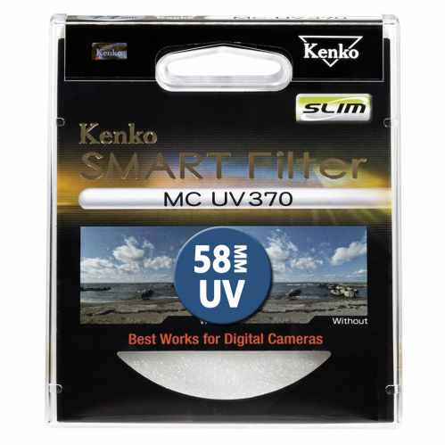 Kenko 58mm Smart Filter MC UV 370 SLIM