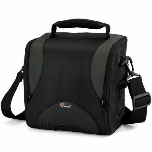 Lowepro Apex 140 AW DSLR / System Camera Bag (Black / Grey)