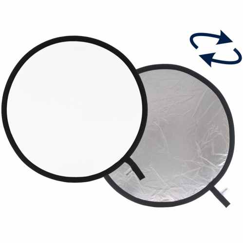 Lastolite Collapsible Reflector 75cm Silver / White