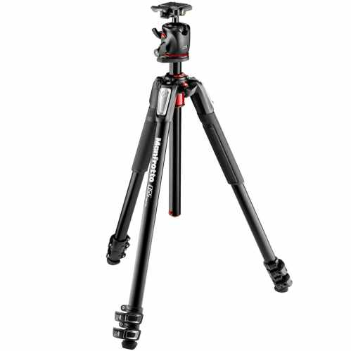 Manfrotto 055 3 Section Tripod + XPRO Ball Head - MK055XPRO3-BHQ2