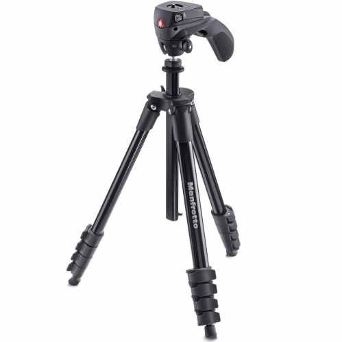 Manfrotto Compact Action Tripod & Case