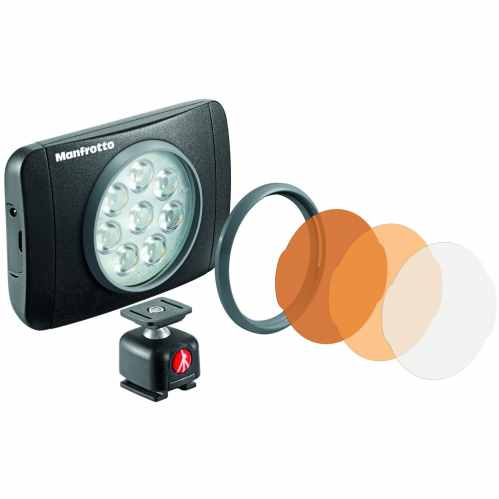 Manfrotto Lumimuse Series 8 LED Light & Accessories - 550lux