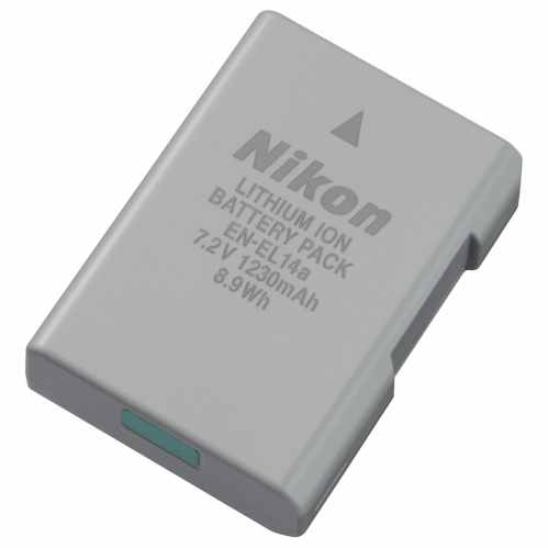 Nikon Battery EN-EL14a for D3000 & D5000 series DSLR's