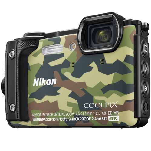 Nikon COOLPIX W300 Waterproof Camera (Camouflage)
