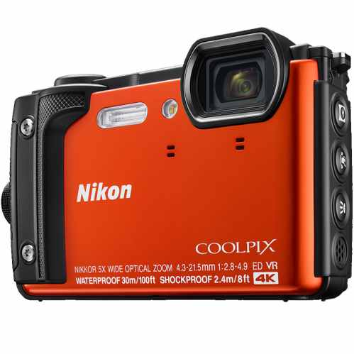 Nikon COOLPIX W300 Waterproof Camera (Orange)