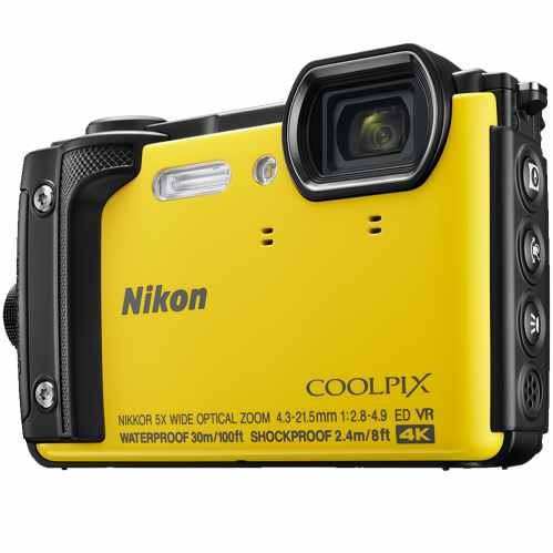 Nikon COOLPIX W300 Waterproof Camera (Yellow)