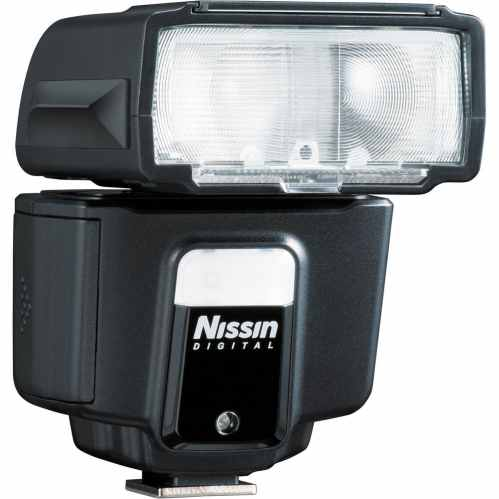 Nissin i40 Award Winning Flashgun with Video Light (Nikon)