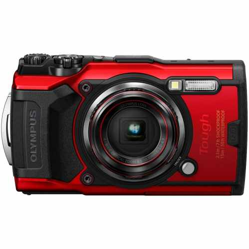 Olympus Tough TG-6 | Waterproof Camera | Red