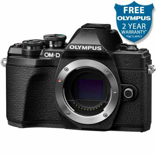 Olympus OM-D E-M10 MK3 Mirrorless Camera Body (Black)