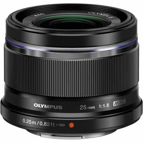 Olympus 25mm f/1.8 M.ZUIKO Digital (black) - Prime Lens