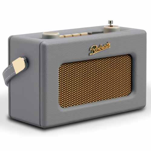 Roberts Revival UNO Compact DAB+/FM Radio with & Alarm - Dove Grey