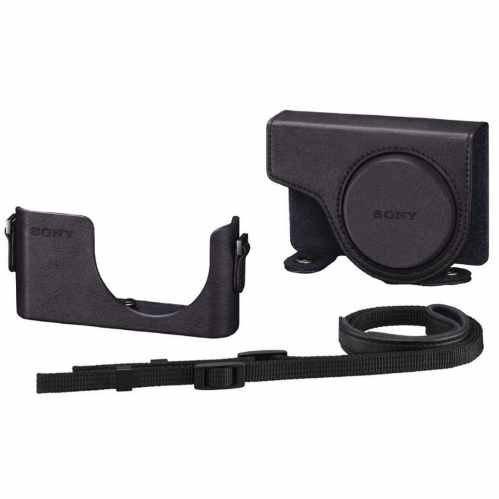 Sony Case and Strap for CyberShot WX350