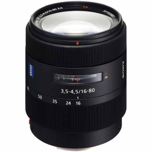Sony Vario-Sonnar T* DT 16-80mm F3.5-4.5 ZA A-Mount Zoom lens