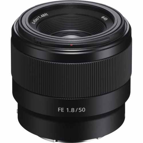 Sony FE 50mm F1.8 - E-Mount Prime Lens