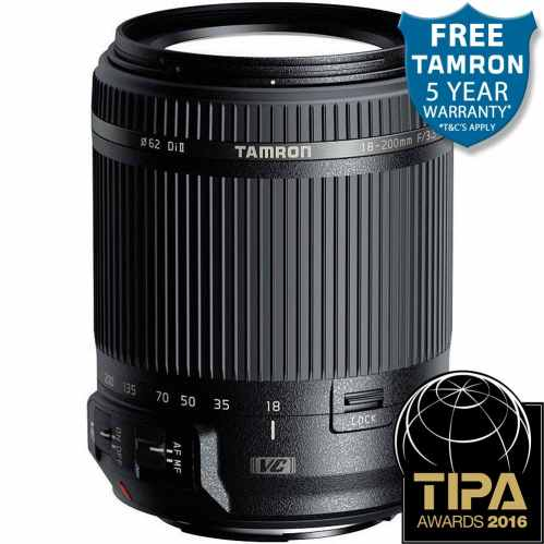 Tamron 18-200mm f3.5-6.3 Di II (B018) All in one zoom lens - Sony Alpha A