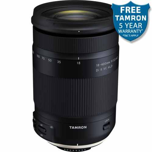 Tamron 18-400mm F/3.5-6.3 Di II VC HLD (B028) - Canon EF-S Fit