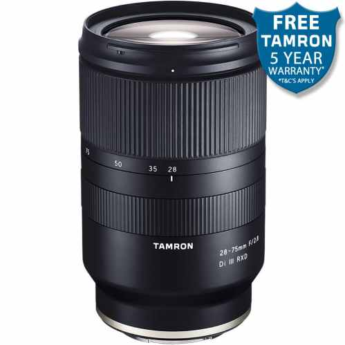 Tamron 28-75mm f2.8 Di III RXD (A036) - Sony FE fit