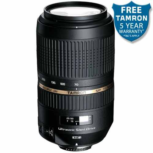 Tamron SP 70-300mm f4-5.6 Di VC USD (A005) Canon EF fit