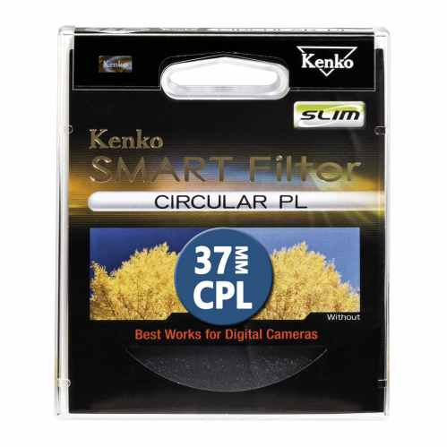 Kenko 37mm Smart Filter Circular Polarizing SLIM