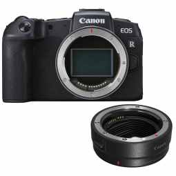 Canon EOS RP Full Frame Mirrorless Camera + EF Mount Adapter