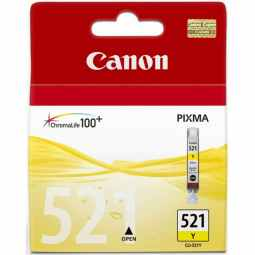 Canon CLI-521Y Yellow Ink Cartridge