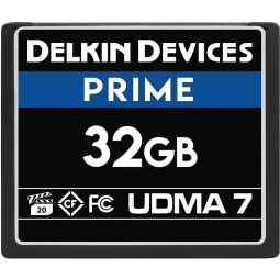 Delkin PRIME 32GB CF 1050X UDMA 7 Memory Card (Made in USA)