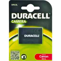 Duracell Canon NB-3L Battery - Fits many IXUS models