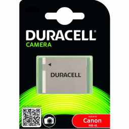 Duracell Canon NB-6L Battery - Fits many IXUS & PowerShot cameras