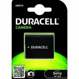 Duracell Sony NP-BG1 Battery - Fits many Cybershot Cameras