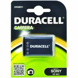 Duracell Sony NP-BX1 Battery - Fits many Cybershot & Actioncam Cameras