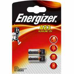 Energizer A23 12v Alkaline Battery | 2 Pack