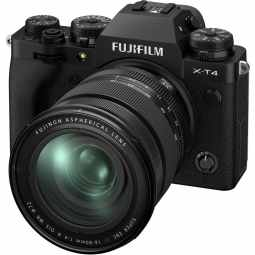 Fujifilm X-T4 + XF16-80mm f/4 R OIS WR Mirrorless Camera | Black