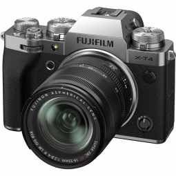 Fujifilm X-T4 + XF18-55mm f/2.8-4 Mirrorless Camera Body | Silver