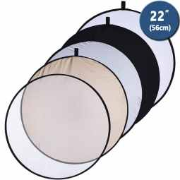 Interfit 5-in-1 Reflector 56cm (22 inches) | INT222