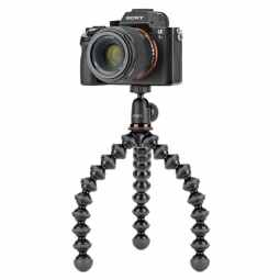 Joby GorrillaPod 1K Flexible Tripod with Ballhead 1K - (Black/grey)