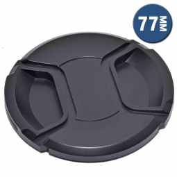 Lens Cap with Centre Grip and retaining cord | 77mm