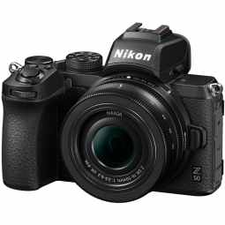 Nikon Z50 + DX 16-50mm | 20.9MP DX  Mirrorless Camera
