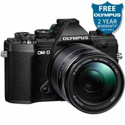 Olympus OM-D E-M5 MK3 Mirrorless Camera + ED 14-150mm F4-5.6 II | Black