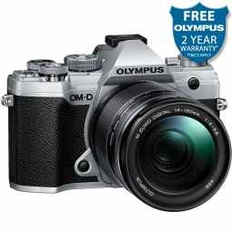 Olympus OM-D E-M5 MK3 Mirrorless Camera + ED 14-150mm F4-5.6 II | Silver