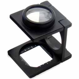 Opticron Folding Linen Tester - 6x Magnification & Doublet 25mm (1